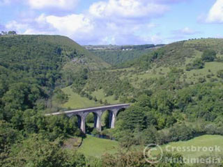monsal head - one of the best viewpoints in the peak district