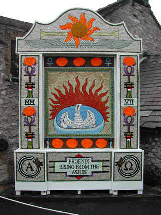 a local welldressing